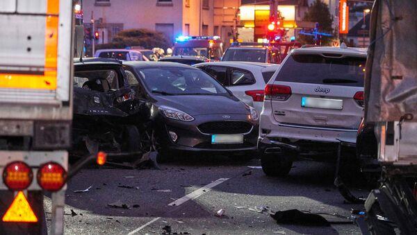 Un camion a foncé sur des voitures à Limburg (7 octobre 2019) - Sputnik France
