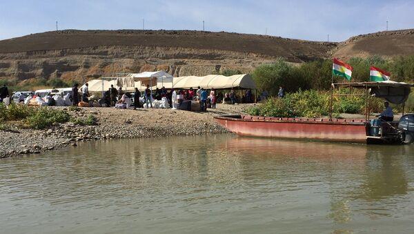 Le point de passage de Semelka, à la frontière syro-irakienne (archive photo) - Sputnik France