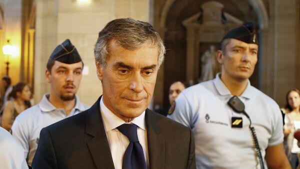 Jerome Cahuzac quitte la cour à Paris, septembre 2016 - Sputnik France