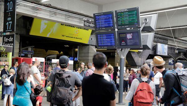 la gare Montparnasse  - Sputnik France