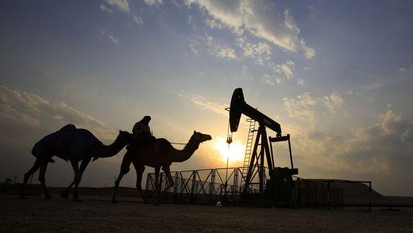 Puits de pétrole dans le désert - Sputnik France
