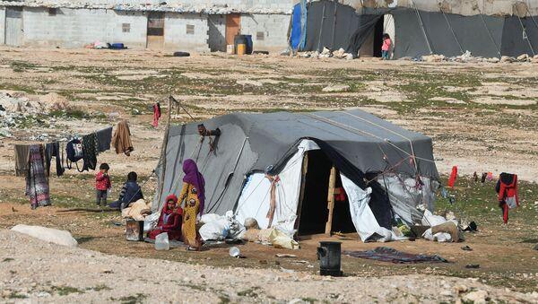 Réfugiés syriens près de Homs - Sputnik France