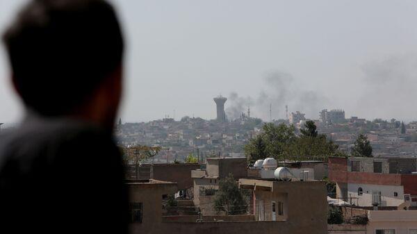 La ville de Qamichli bombardée par l'armée turque - Sputnik France