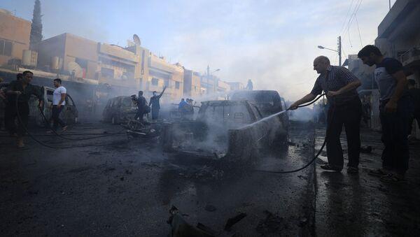 Un attentat à voiture piégée à Qamichli - Sputnik France