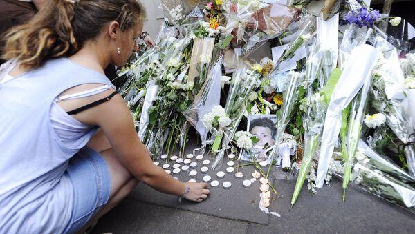 Les images de funérailles de la famille de Xavier Dupont - Sputnik France