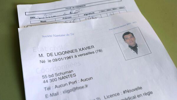 le formulaire d'enregistrement du suspect dans l'assassinat de la famille Dupont de Ligonnes - Sputnik France