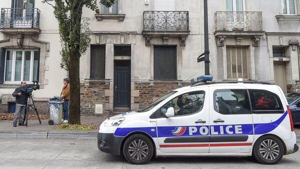 Une voiture de police à Nantes - Sputnik France