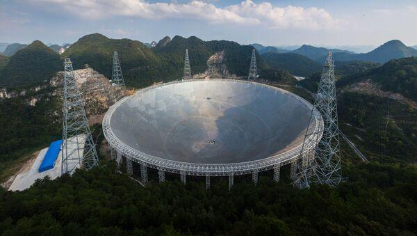 Le FAST, immense télescope, installé en Chine - Sputnik France