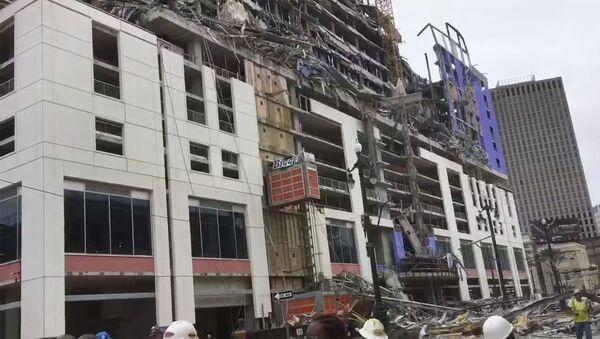 L'hôtel en chantier à La Nouvelle-Orléans - Sputnik France