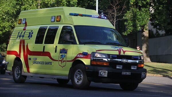 Une ambulance en intervention à Lausanne. - Sputnik France