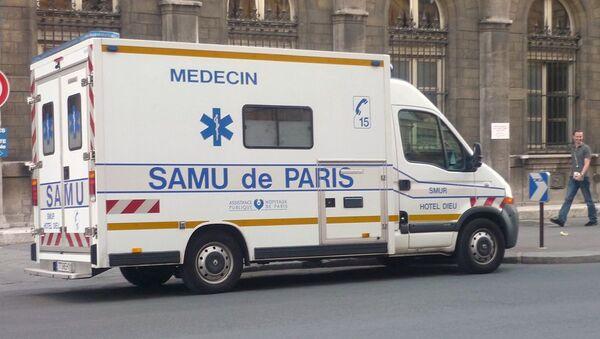 Véhicule du SAMU à Paris - Sputnik France