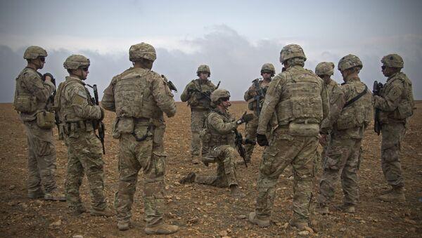 Soldats américains en Syrie (archive photo) - Sputnik France