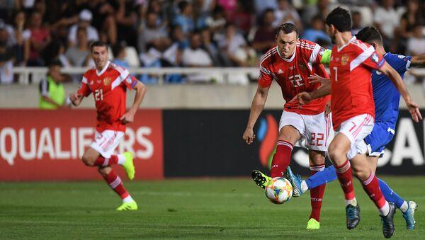 El partido entre las selecciones de Rusia y Chipre - Sputnik France