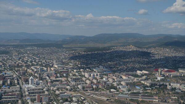 Une ville russe vue du ciel - Sputnik France