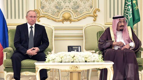 Visite de Poutine en Arabie saoudite, 2019 - Sputnik France