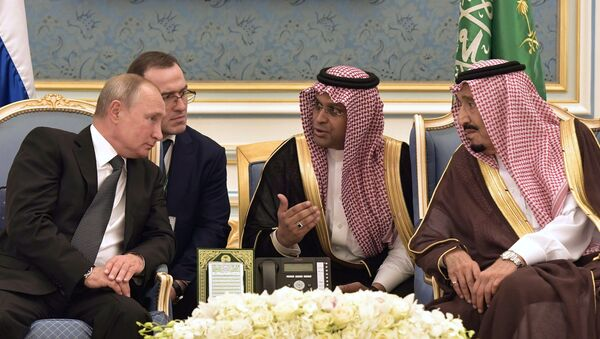 Vladimir Poutine en Arabie saoudite, 2019 - Sputnik France