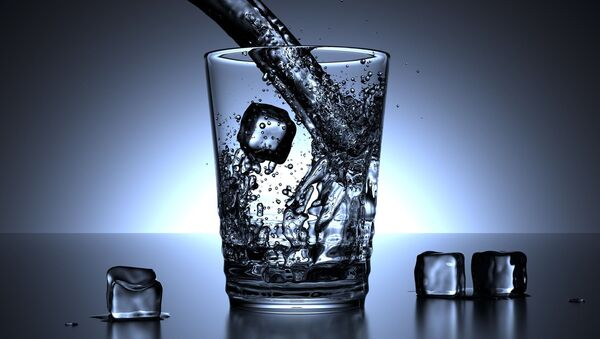 Un verre d'eau (image d'illustration) - Sputnik France