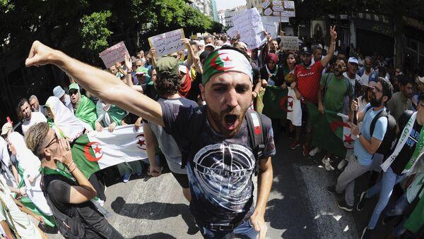 Manifestants du Hirak, Algérie - Sputnik France