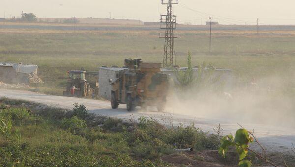 Situation près de la frontière entre la Turquie et la Syrie - Sputnik France
