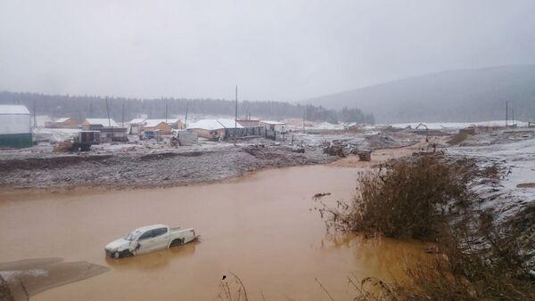 Rupture d'un barrage en Sibérie - Sputnik France