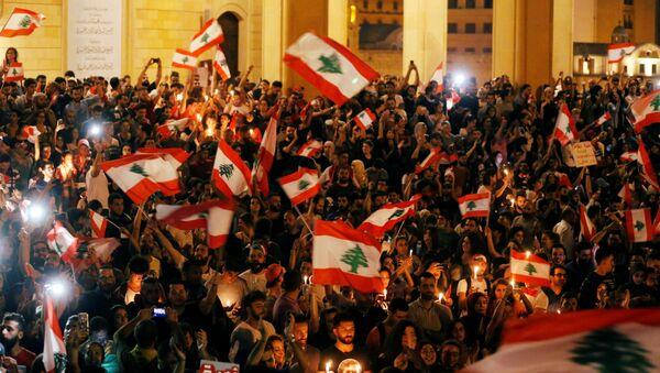 Une manifestation au Liban  - Sputnik France