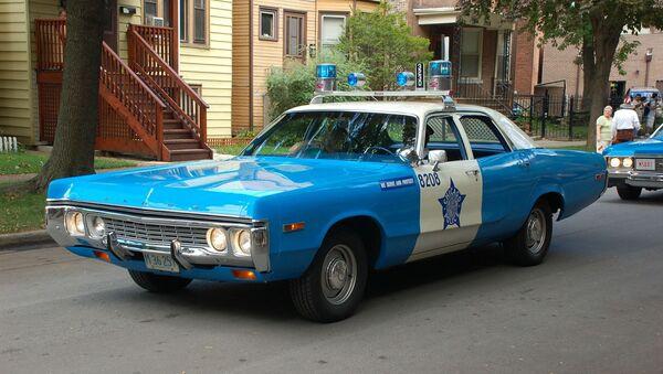 Une voiture de police à Chicago - Sputnik France