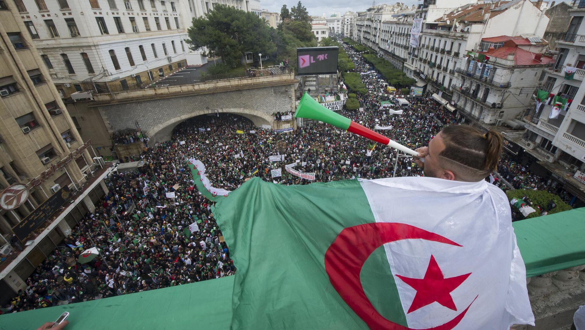 Manifestations en Algérie - Sputnik France, 1920, 30.03.2021