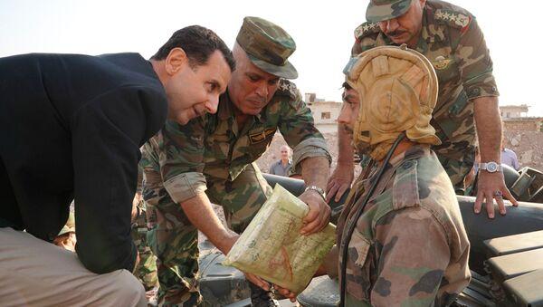 Bachar el-Assad à Idlib - Sputnik France