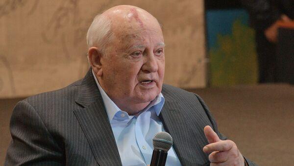 L'ancien Président de l'URSS Mikhaïl Gorbatchev - Sputnik France