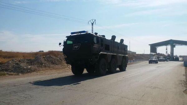 La police militaire russe arrive à Kobané (archive photo) - Sputnik France