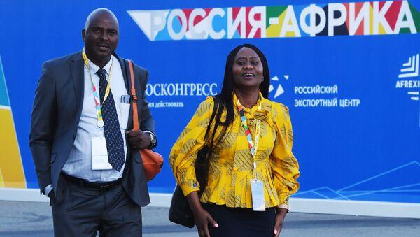 Participants du Forum Russie-Afrique - Sputnik France