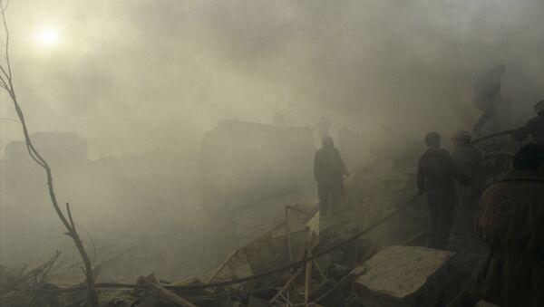 Conséquences du séisme à Spitak, en Arménie (décembre 1988) - Sputnik France