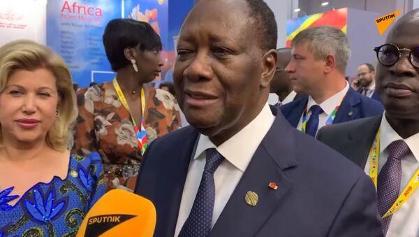 Le Président ivoirien Alassane Ouattara - Sputnik France
