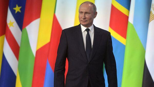 Vladimir Poutine au forum Russie-Afrique  - Sputnik France