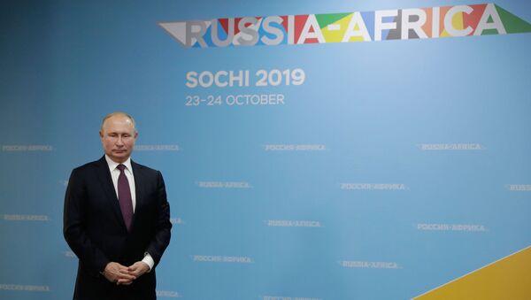 Vladimir Poutine au sommet Russie-Afrique - Sputnik France