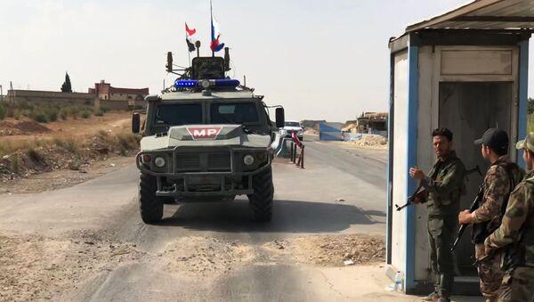 Police militaire russe en Syrie - Sputnik France