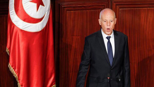 Kaïs Saïed lors de son discours d'investiture de 23 octobre 2019 - Sputnik France