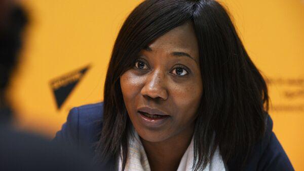 Ministre des Affaires étrangères de la Centrafrique Sylvie Baïpo-Temon - Sputnik France