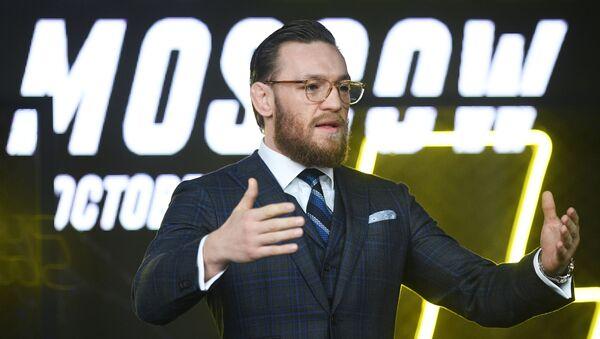 Conor McGregor à Moscou - Sputnik France