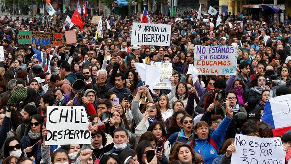 Protestas en Chile - Sputnik France
