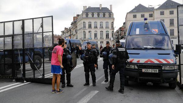 Gendarmes en France (image d'illustration) - Sputnik France