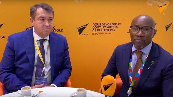 Les dirigeants d'une entreprise russo-burundaise  - Sputnik France