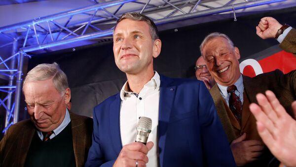 Thüringens AfD-Fraktionschef Björn Höcke am 27. Oktober 2019 - Sputnik France