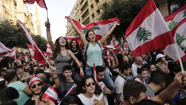 Des manifestations antigouvernementales à Beyrouth - Sputnik France