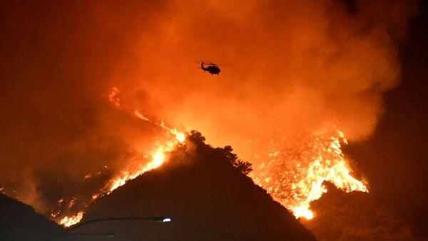 Incendie en Californie, le 28 octobre 2019 - Sputnik France