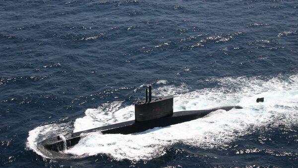 Un S-33, sous-marin Tapajo de la Marine brésilienne - Sputnik France