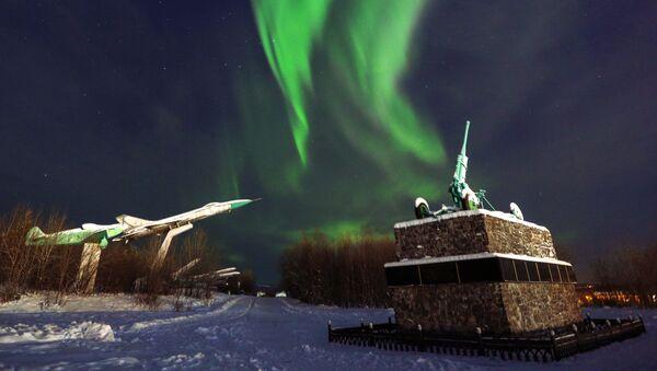 La magie envoûtante des aurores boréales dans la région de Mourmansk  - Sputnik France