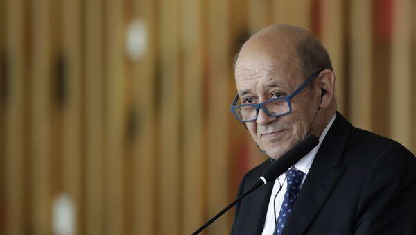 Jean-Yves Le Drian, ministre français de l'Europe et des Affaires étrangères - Sputnik France
