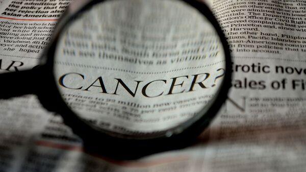 Inscription cancer dans un journal - Sputnik France