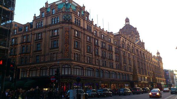 Centre commercial Harrods, à Londres - Sputnik France